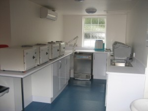 Our new Decontamination Room
